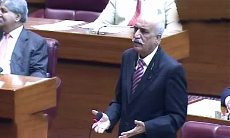 PPP leader Khursheed Shah criticises PM Khan over what he called mishandling TLP protest. ─ DawnNewsTV