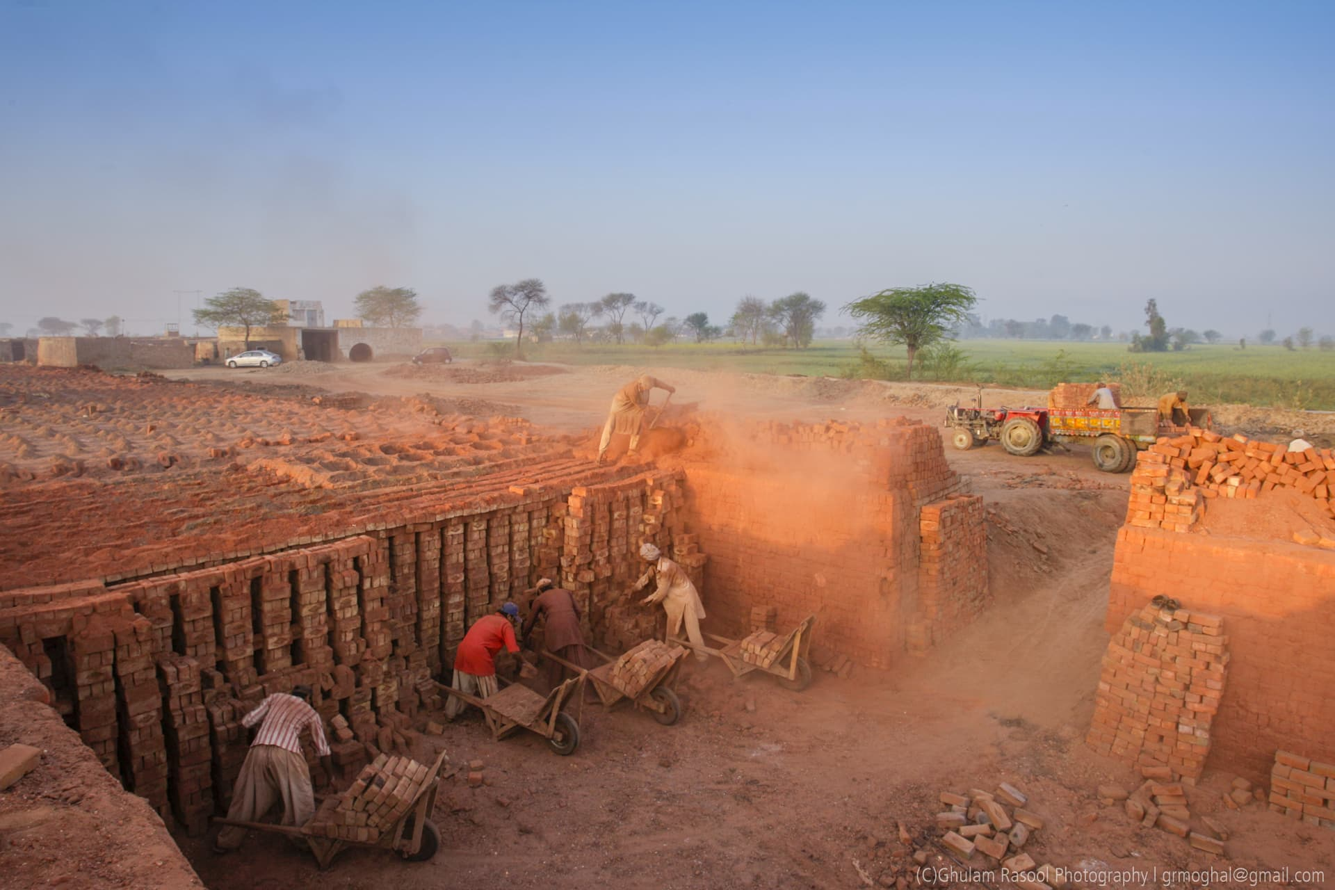 The government is putting in place ways to help the kiln factories (Image by: Ghulam Rasool)