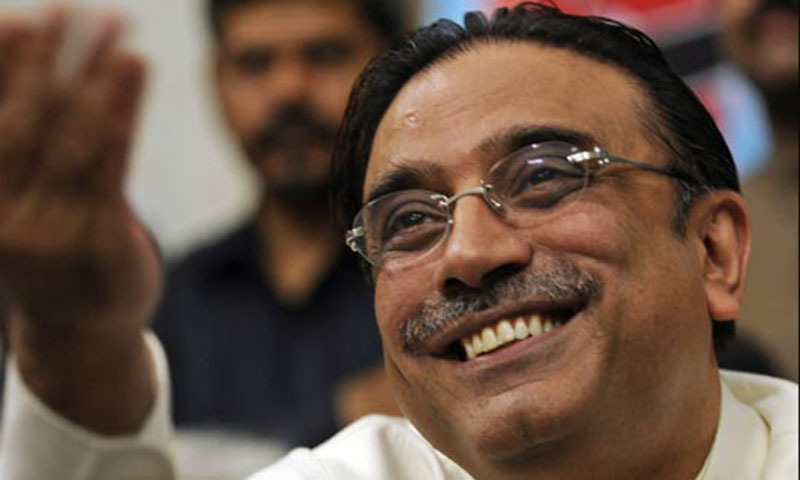 Pakistan Peoples Party co-chairman Asif Ali Zardari. —File photo