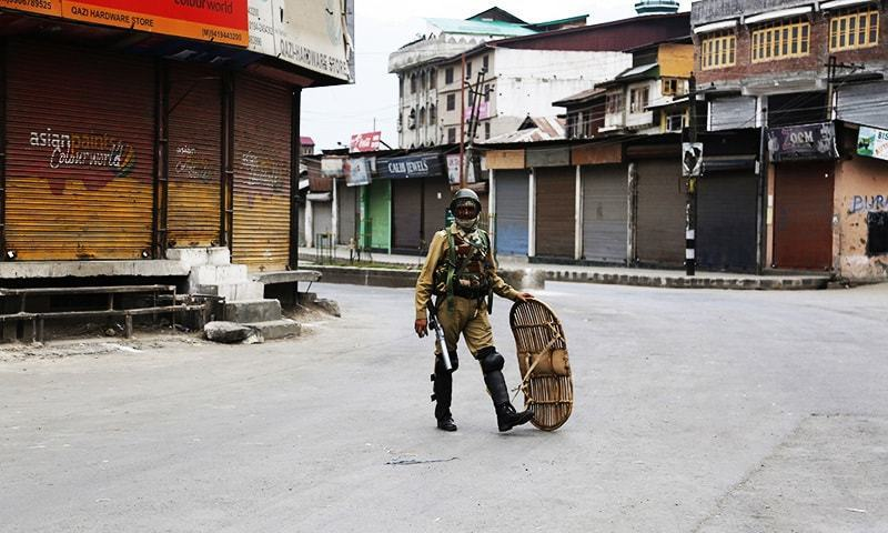 Tension spikes in held Kashmir after politician's killing