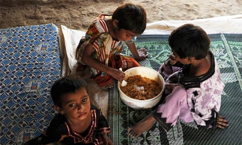 Threats to Sustainable Development Goal to end malnutrition by 2030.