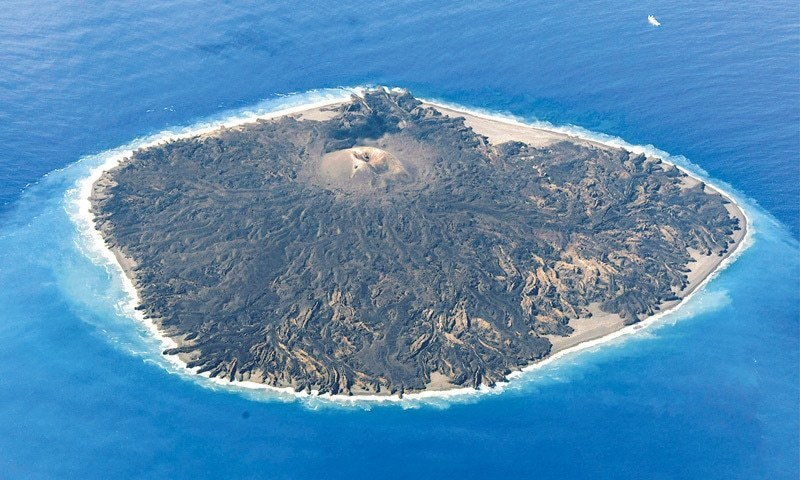 Missing: A tiny island in northern Japan.  Or so authorities fear, prompting plans for a survey to determine if the outcrop has been washed away, ever-so-slightly shrinking the country's territorial waters.  — File Photo