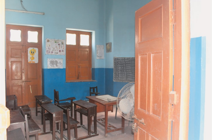 The club premises now serve as a school for girls