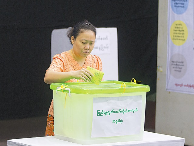 Myanmar by-elections a test for Suu Kyi's ruling party