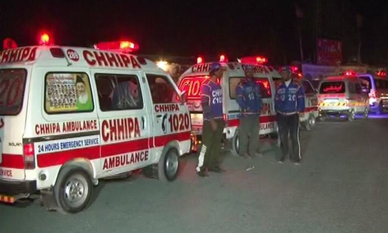 Eight killed in Khuzdar highway accident