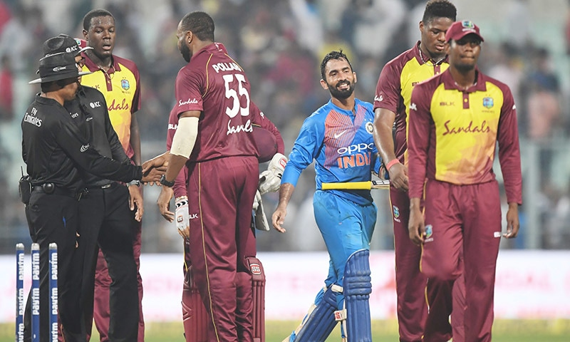 Kuldeep kills off West Indies in first T20