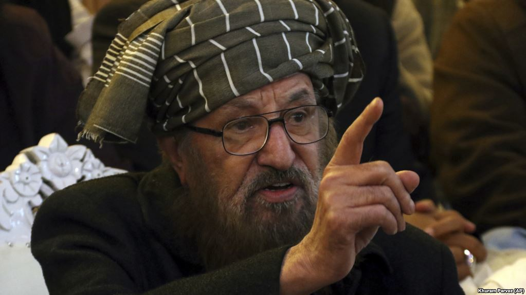 Maulana Samiul Haq was killed by unknown persons at his residence in Rawalpindi on Friday night. — File photo