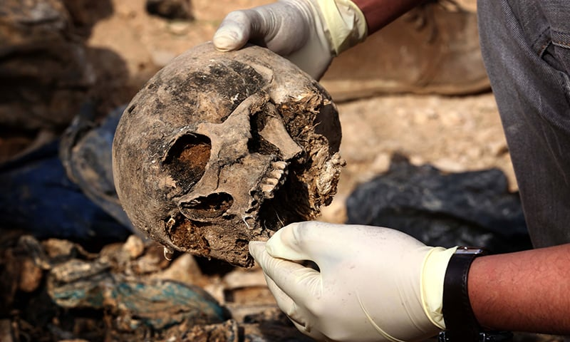 More than 200 mass graves found in former IS territory in Iraq: UN