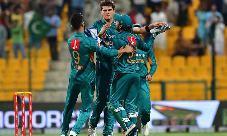 پاکستان کے نوجوان باؤلرز نے نیوزی لینڈ کو شدید مشکلات سے دوچار کردیا—فوٹو: آئی سی سی ٹویٹر