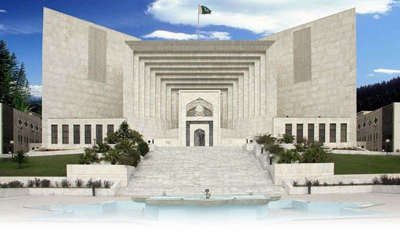 """The report submitted in the Supreme Court by the Law and Justice Division added that this was in order to provide """"fair, substantial, inexpensive and speedy justice"""".  — supremecourt.gov.pk/File"""