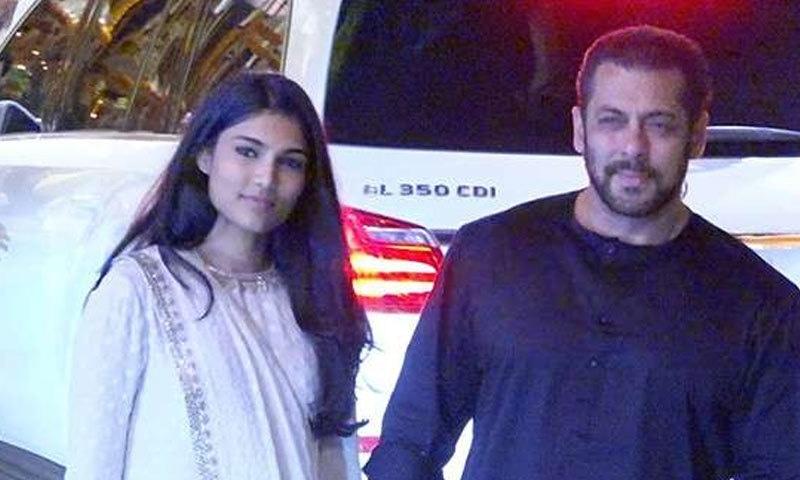سلمان خان بھانجی کو اپنی فلم سے متعارف کرانے کے خواہش مند ہیں—فوٹو: فلم فیئر