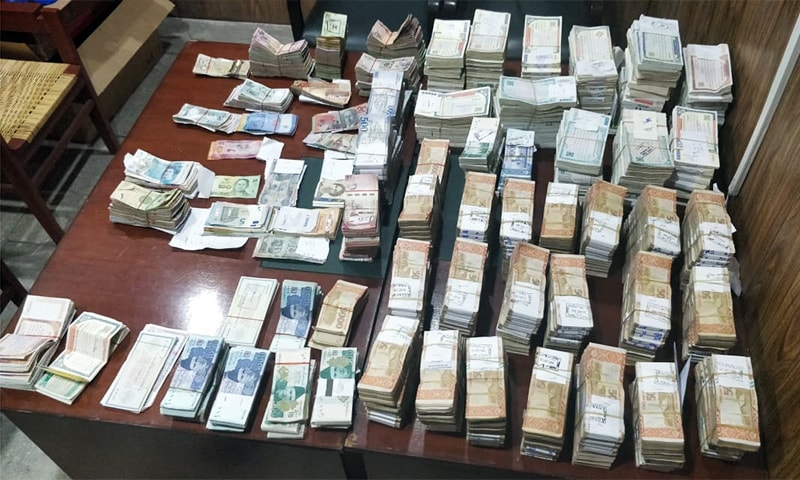 NAB recovers nearly Rs330 million from former govt officer's Lahore residence