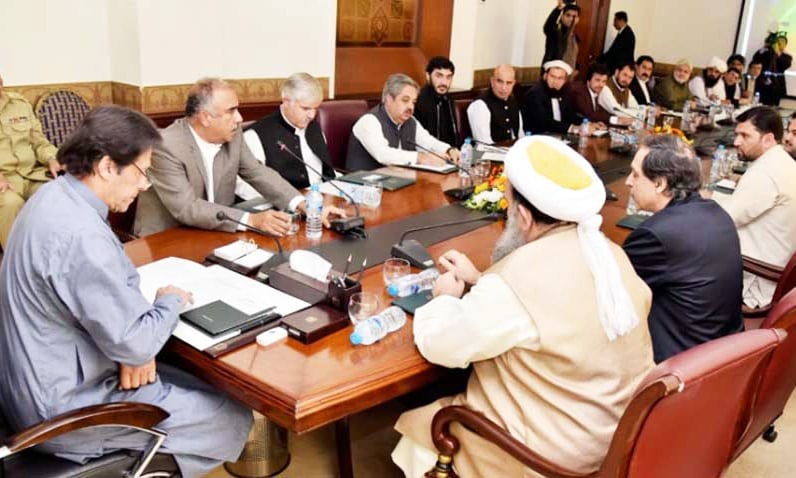 PTI govt will ensure provision of due share to Fata in NFC award, says PM Khan