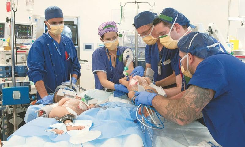 Australian surgeons separate conjoined Bhutanese twins