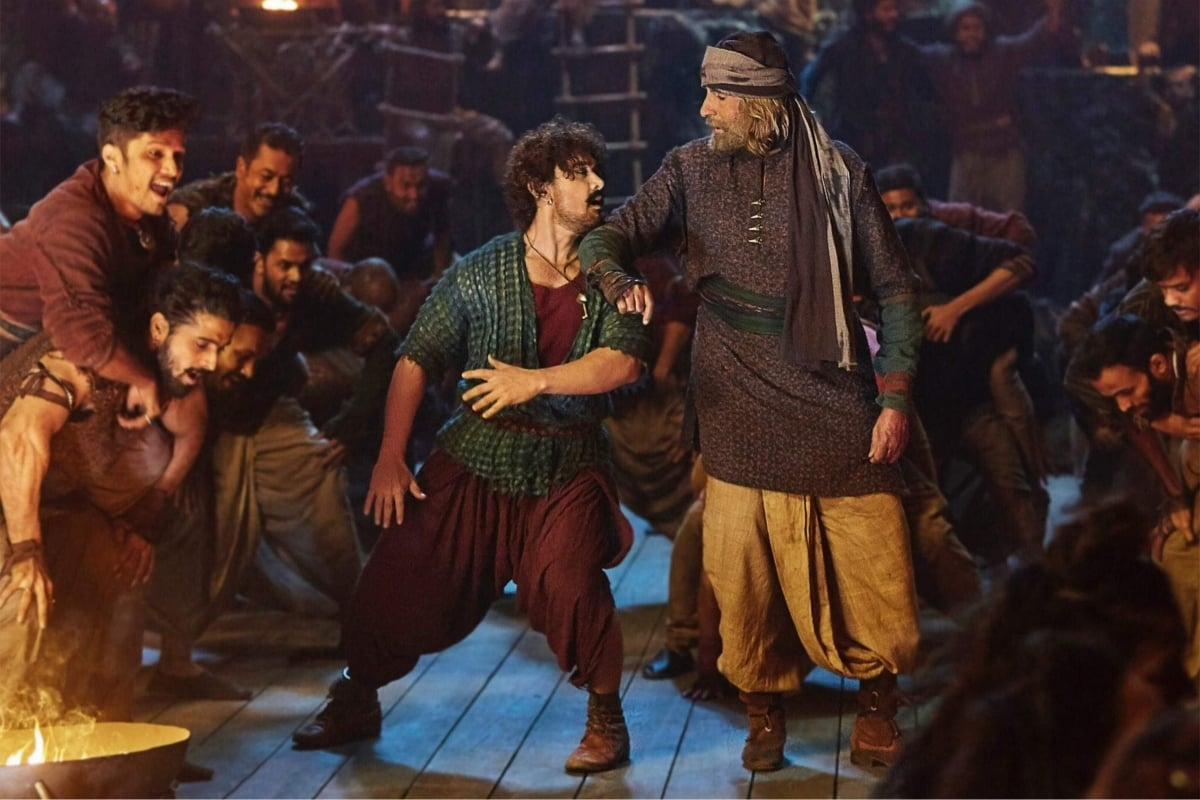 Aamir Khan's Firangi was too reminiscent of Johnny Depp's Jack Sparrow