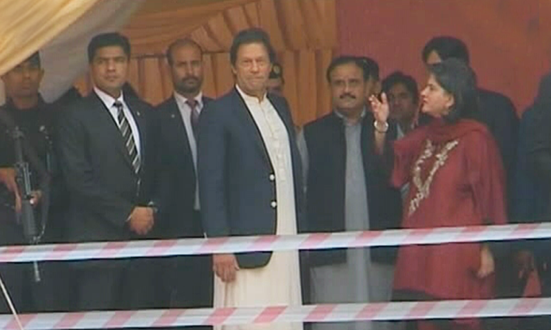PM Khan lays foundation stone of shelter for the homeless in Lahore