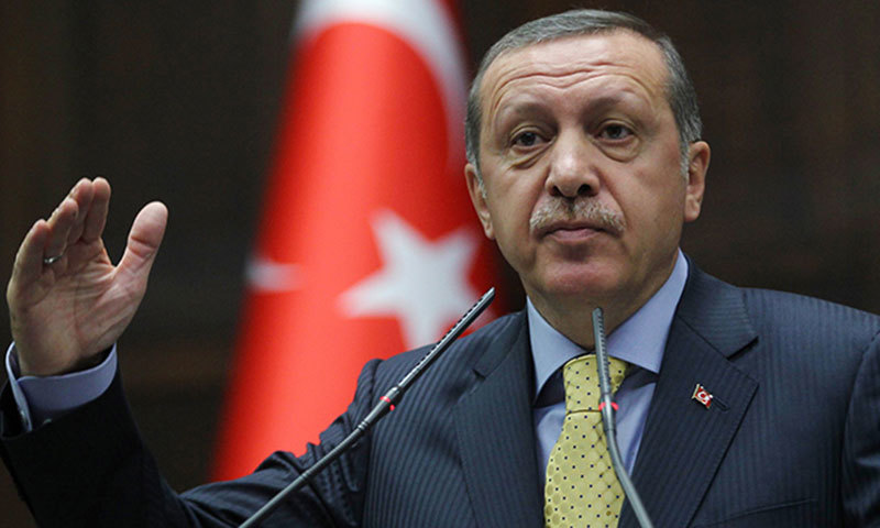 "Erdogan has called on Saudi Arabia to rid itself of the ""stain"" by cooperating with Turkey over the investigation. — File"