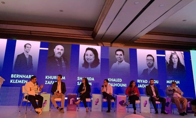 Panellists share their thoughts on Pakistan's startup ecosystem and their investment approach at 021Disrupt on Saturday.