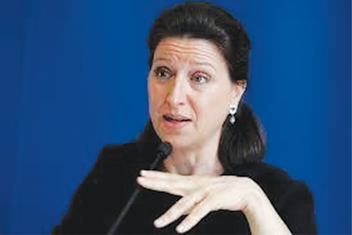 FRENCH Health Minister Agnés Buzyn.
