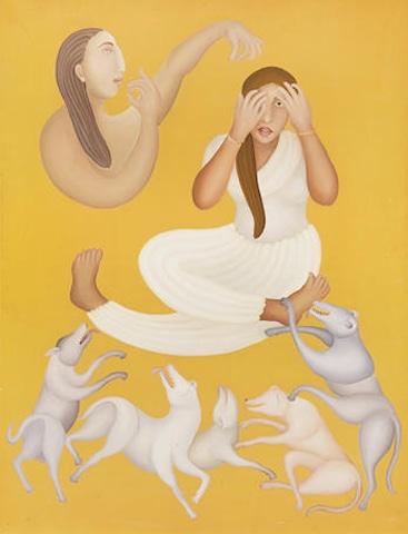 Untitled, Manjit Bawa