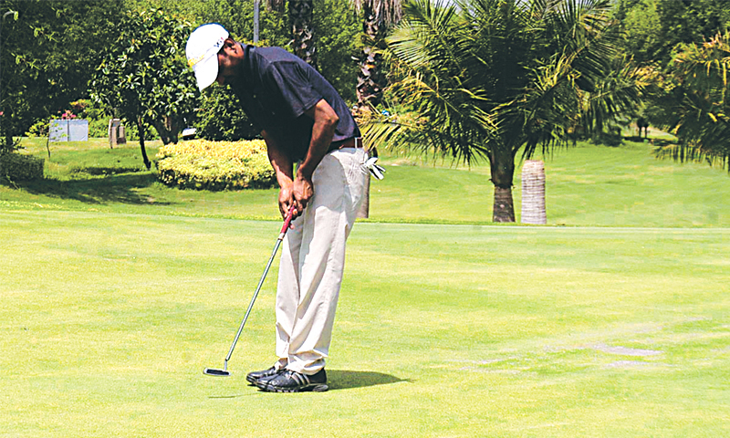 Golfer plays at Royal Palm Golf Club. — File photo