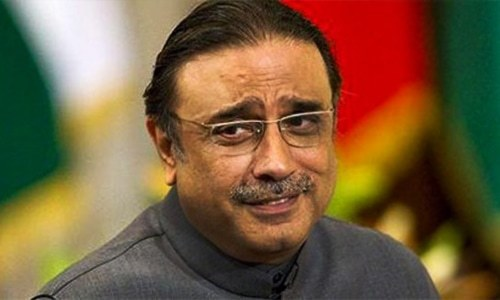 Stashing money in suspicious bank accounts normal practice: Zardari