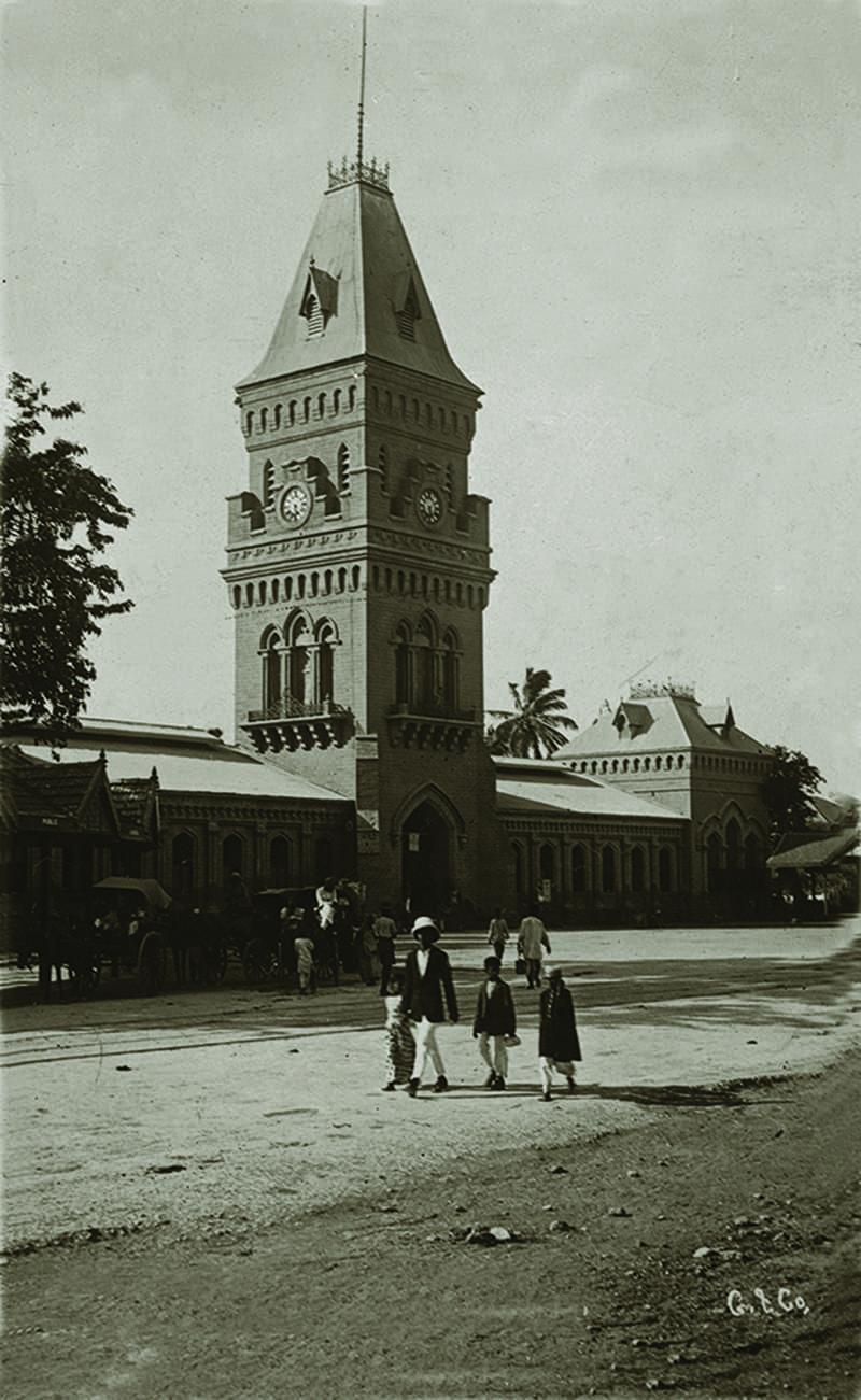 ایمپریس مارکیٹ کی ایک پرانی تصویر