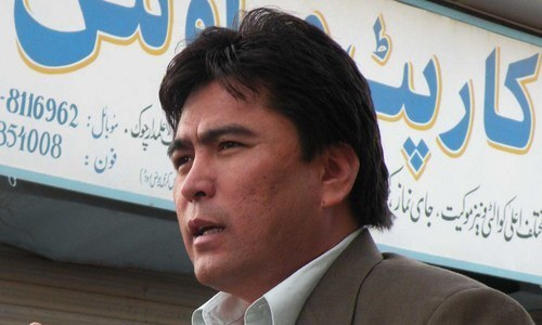 Hazara Democratic Party leader Ahmed Ali Kohzad's election to Quetta's PB-26 constituency. — Photo courtesy Ahmed Kohzad Twitter/File photo