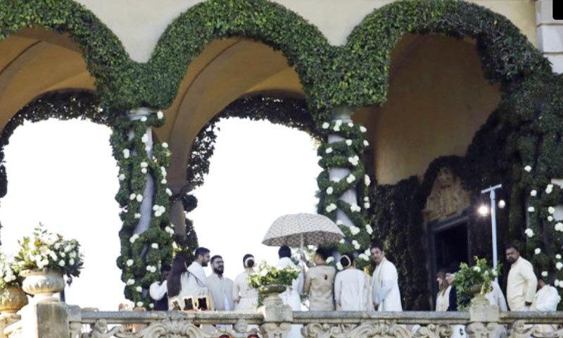14 نومبر کو جوڑے کی ہونے والی شادی کا منظر—اسکرین شاٹ