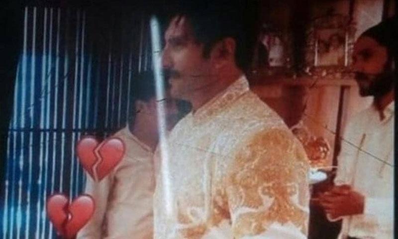 رنویر سنگھ کی شادی کے موقع پر لی گئی تصویر—فوٹو: فلم فیئر ٹوئٹر