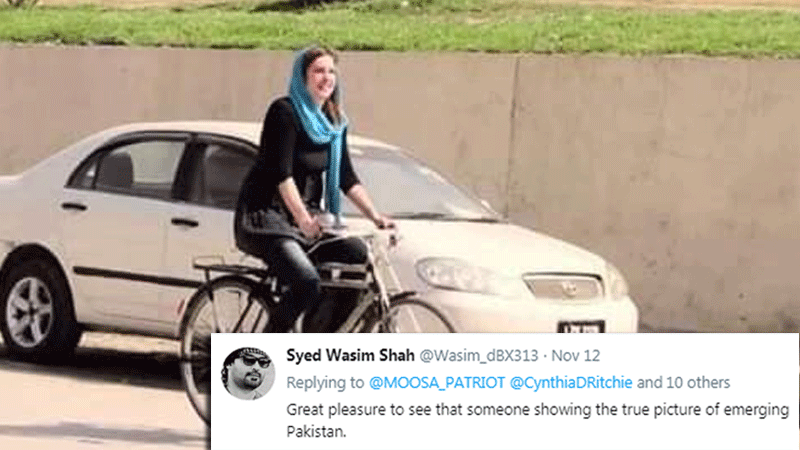 This photo highlights how we apply different standards to desi women versus foreign women