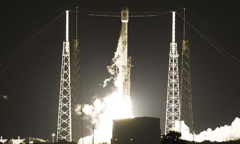 In this 2016 file photo, SpaceX Falcon 9 rocket launches from Launch Complex 40 at Cape Canaveral Air Force Station in Florida. — AP/File photo
