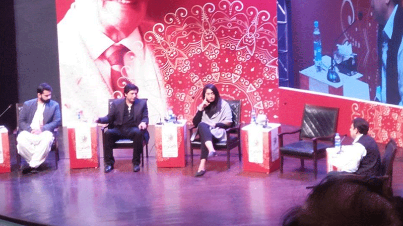 A panel discussion at the festival