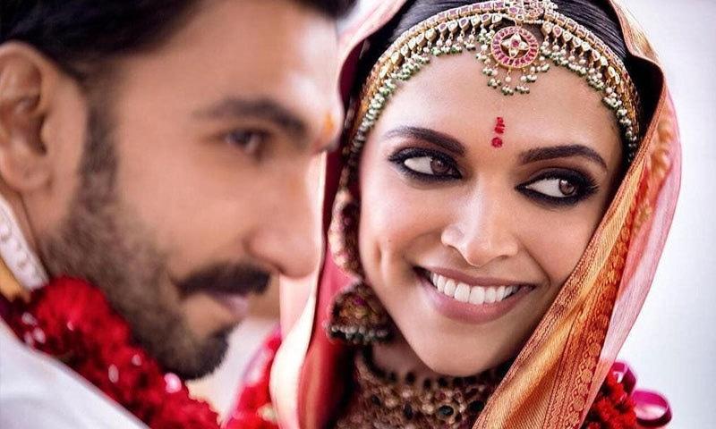 رنویر سے شادی سے قبل اداکارہ کے تعلقات رنبیر سے تھے—فوٹو: دیپ ویر انسٹاگرام