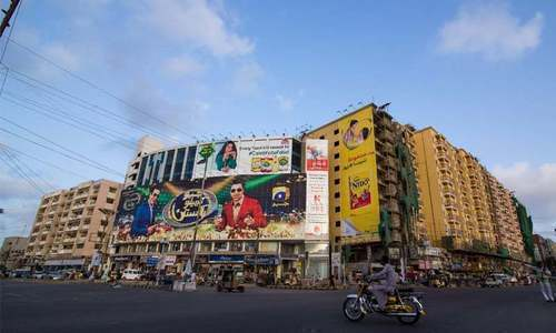 Petition says outdoor advertising is source of earning for millions of people. — Dawn/File