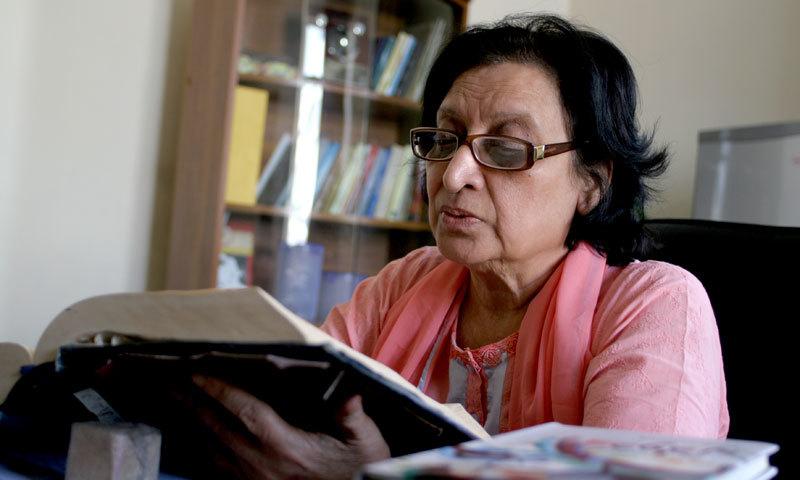Fahmida Raiz was hailed by many as the pioneer in feminist literature. —Dawn Archives