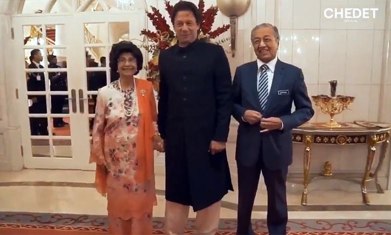 PM Imran Khan finds a new fan in Malaysian first lady
