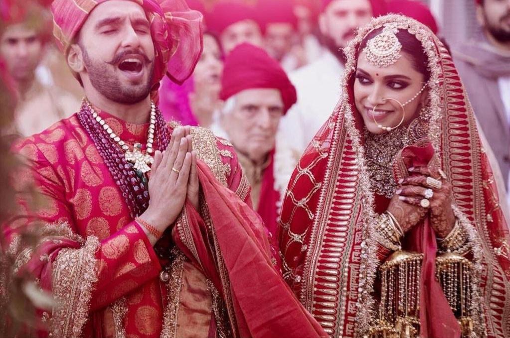 رنویر اور دپیکا نے کونکنی اور سندھی روایات کے مطابق شادی کی تھی—فوٹو: دیپ ویر انسٹاگرام