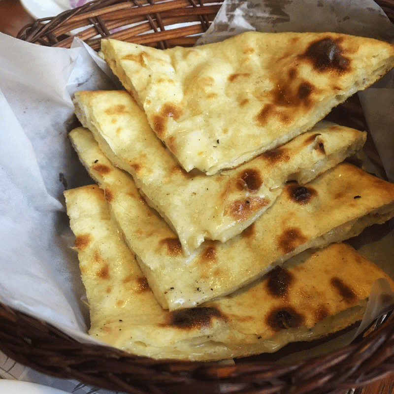 Cheese Naan.