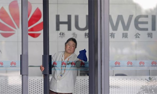 Chinese telecom giant, Huawei, has long refuted accusations of security risks. — File photo