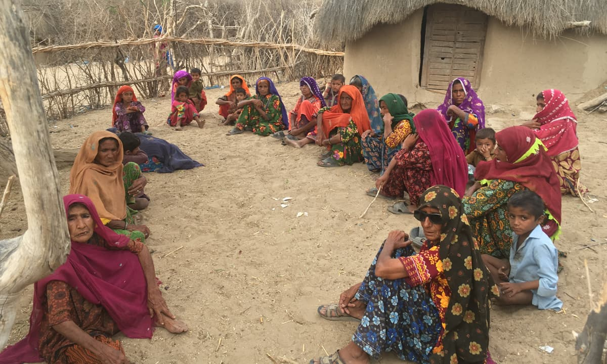 Women of Guraro village in Thar | Moosa Kaleem