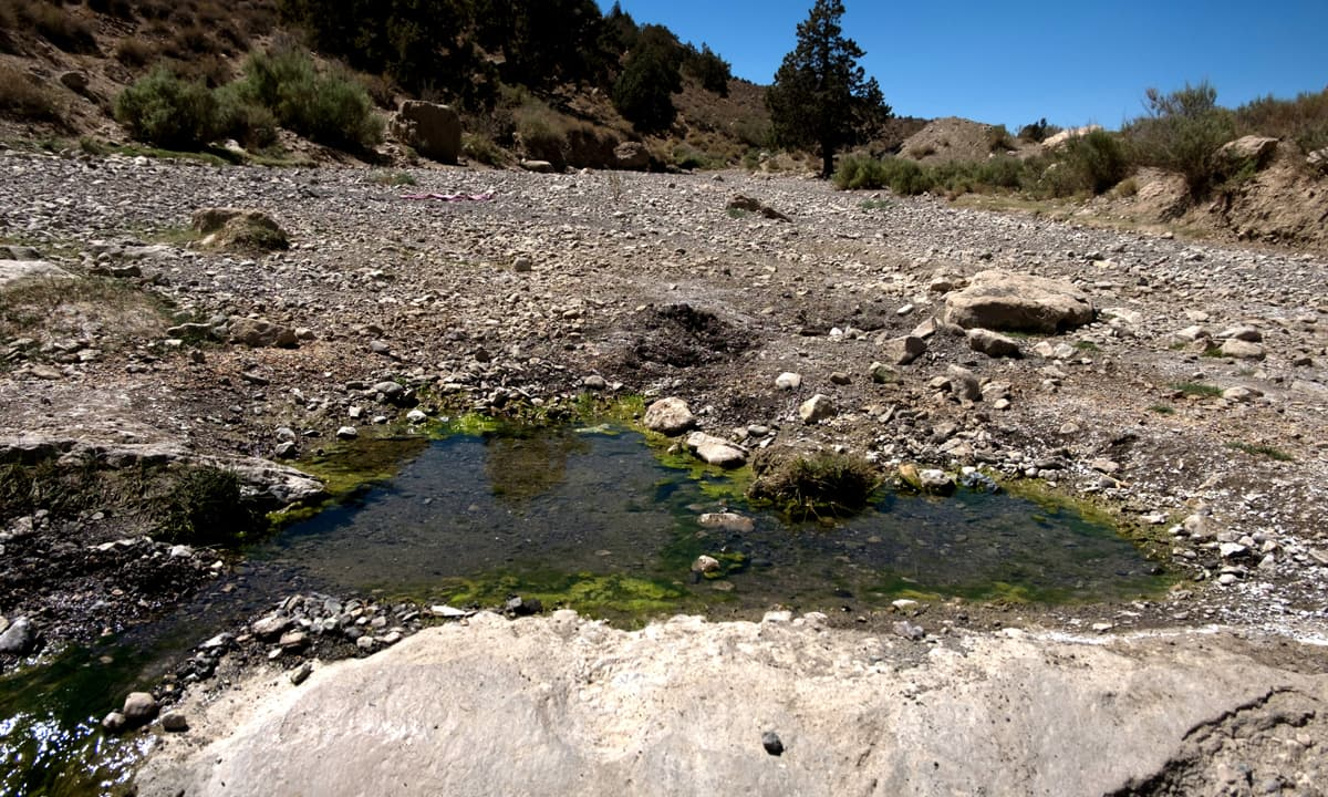 A dry stream in Ziarat | Maqbool Ahmed