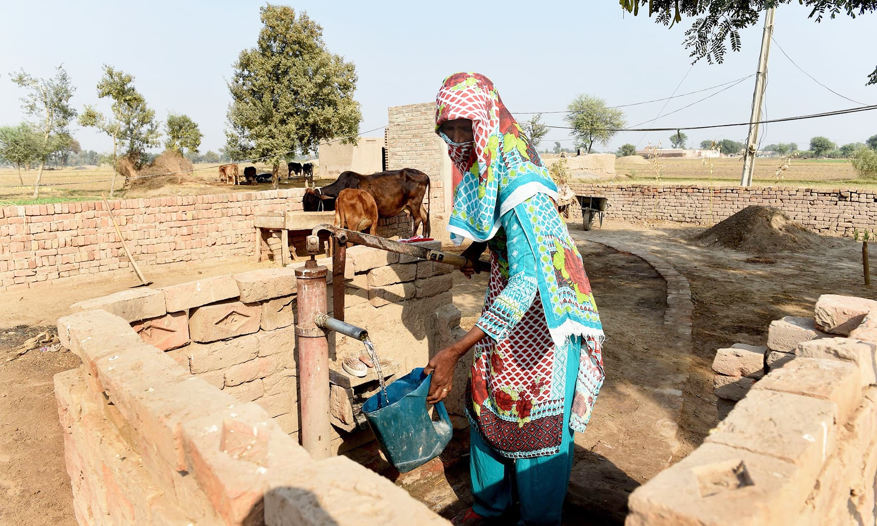 Some 53,000 children die each year from diarrhoea in Pakistan after consuming polluted water. —AFP