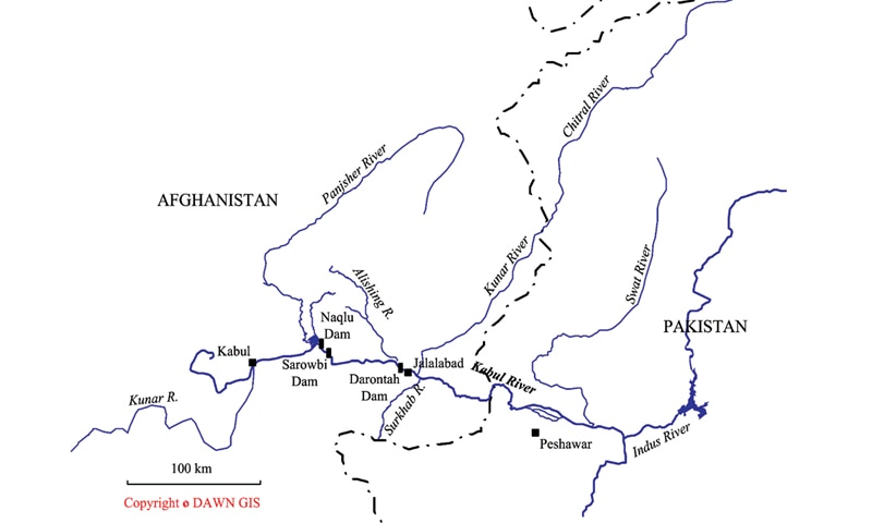 Shared waters between Pakistan and Afghanistan