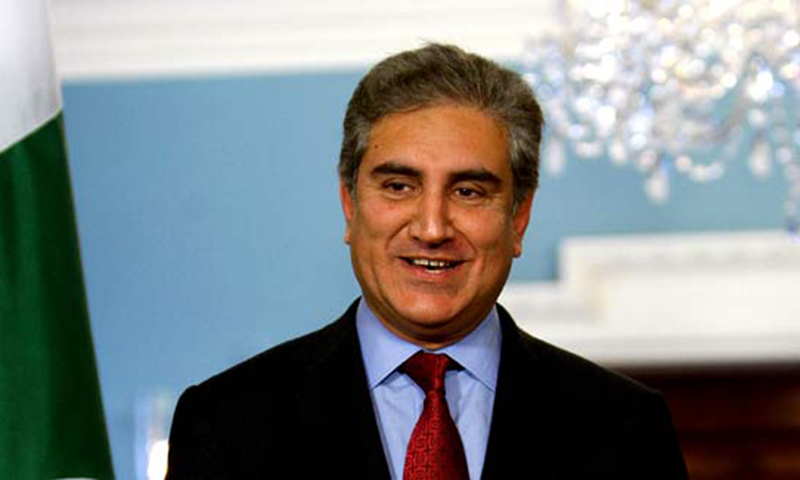 FM Shah Mehmood Qureshi says India's response to Pakistan's peace initiative was positive. — File photo