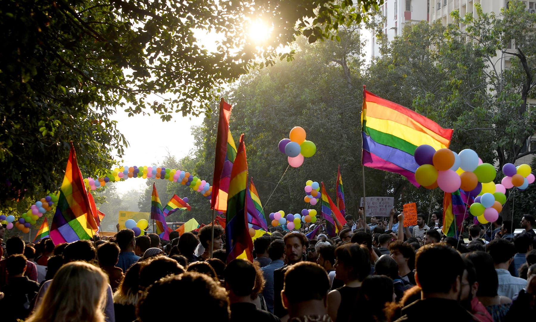 India is now one of more than 120 countries to have effectively decriminalised homosexuality. —AFP