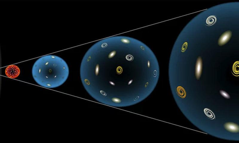 13 ارب سال گزرنے کے باجود کائنات کا پھیلاؤ جاری ہے—فوٹو: نیو ایٹلس