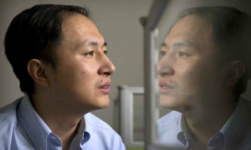 اس تحقیق کو کرنے والے چینی سائنسدان — اے پی فوٹو