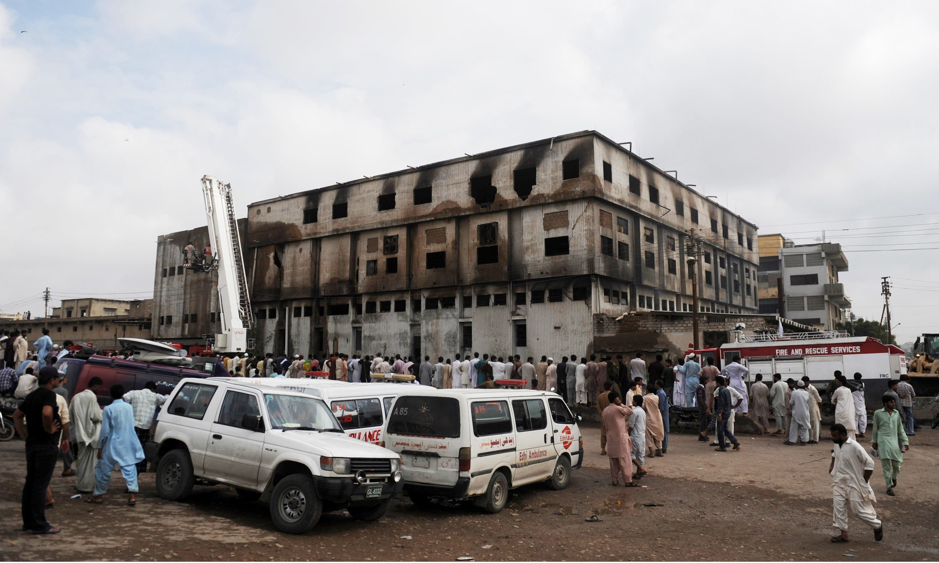 Lawsuit opens in Germany against textile company over deadly Baldia factory fire