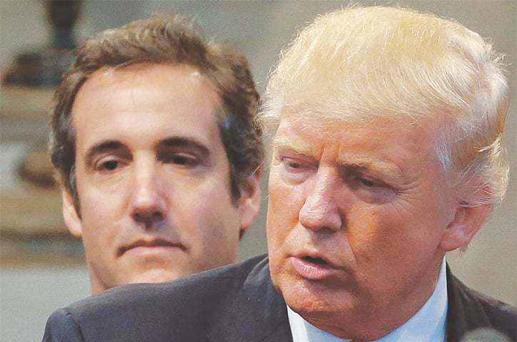 Trump ex-lawyer pleads guilty to lying over Russia deal